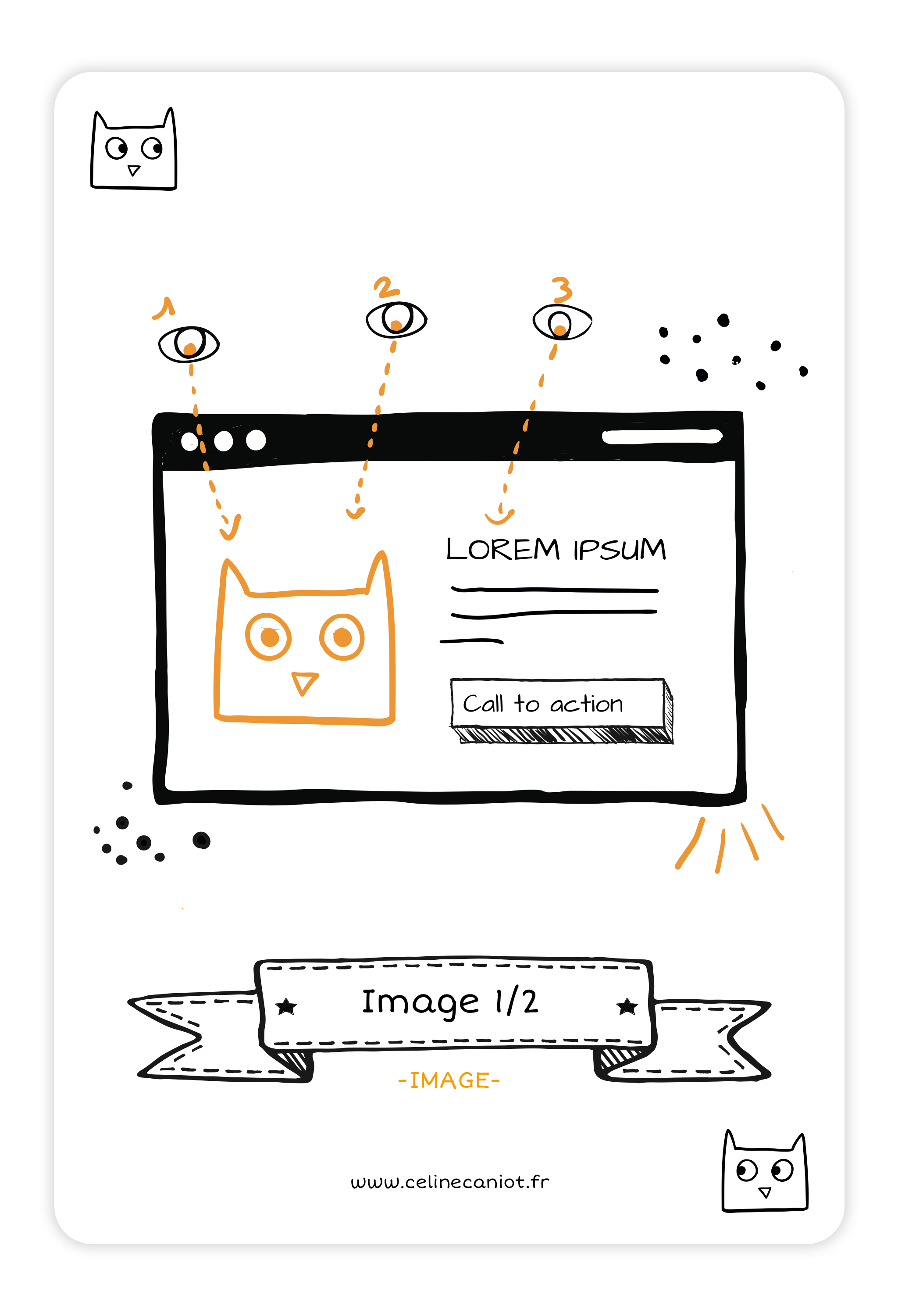 Composition image - UX design