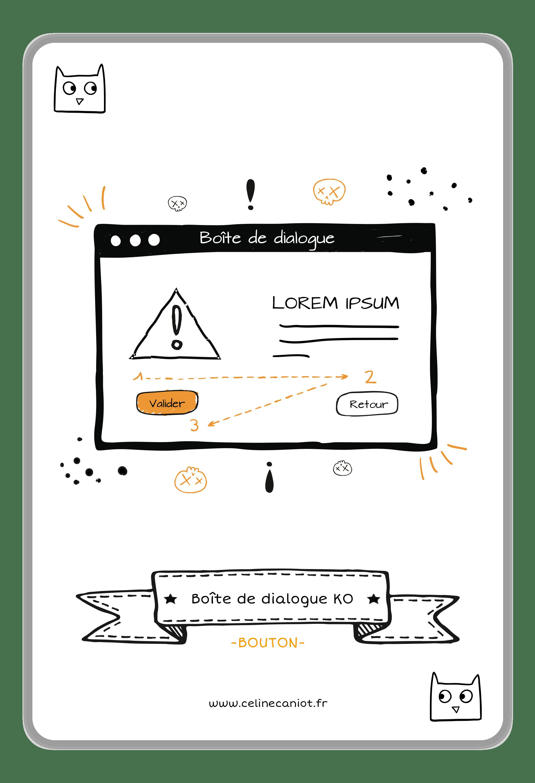 ergonomie web - modale